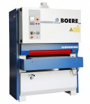 BOERE Breedbandschuurmachine, type SANDONOMIC 650 KC, CE