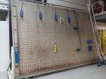 DUIN vertikale hydraulische Opsluitbank, 3 x 5 mtr netto, CE, Nr. 234
