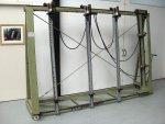STROMAB pneumatische Opsluitbank, type STP-ORM, CE, Nr. 535