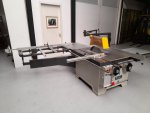 VEMA  zeer zware Cirkelzaagmachine met roltafel, type TKSS-500, CE, Nr. 347